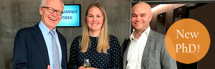 Katrine Pilely successfully defendes her PhD